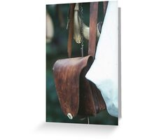 Musket pack Greeting Card