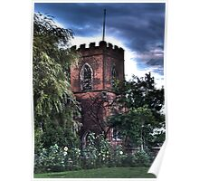 St Peters Church, Woodmansey. East Riding of Yeorkshire Poster