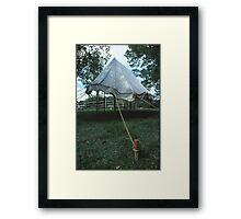 Revolutionary Tent Framed Print