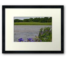 Peaceful Day While the Wind Blows Framed Print