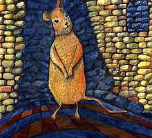 239 - THE MOUSE - DAVE EDWARDS - COLOURED PENCILS - 2008 by BLYTHART