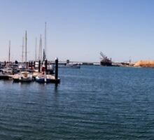 Portland Harbour Panorama  by forgantly