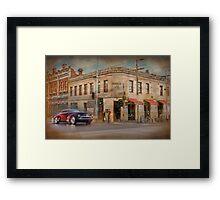 Provincial Hotel - Fitzroy, Melbourne, Victoria Framed Print