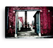Graffiti with a lens Canvas Print