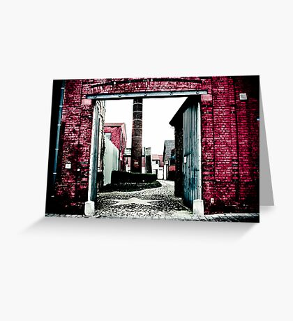 Graffiti with a lens Greeting Card
