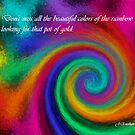 Don't Miss All The Colors of the Rainbow by Julie Everhart