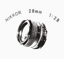 Nikkor 28mm Black by BKSPicture