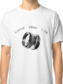 Nikkor 28mm Black Classic T-Shirt
