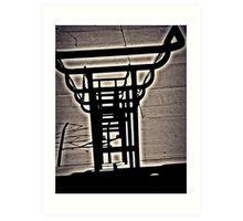 """Aura Rail"" Art Print"