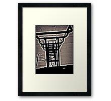 """""""Aura Rail"""" Framed Print"""