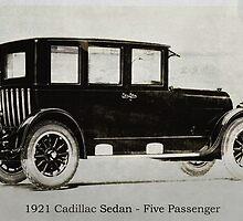 1921 Cadillac Sedan by garts