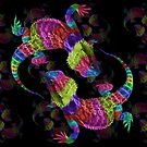 Rainbow Lizards by Susie Hawkins