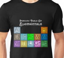 Periodic Table of Elementals Unisex T-Shirt