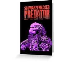 NES Predator: Predator Edition Greeting Card