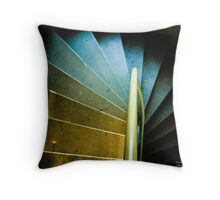 Up the Downstairs Throw Pillow