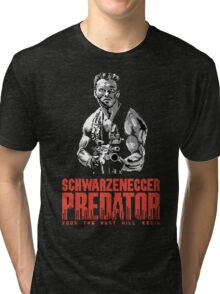 NES Predator: Arnie Edition Tri-blend T-Shirt