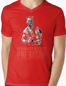 NES Predator: Arnie Edition Mens V-Neck T-Shirt