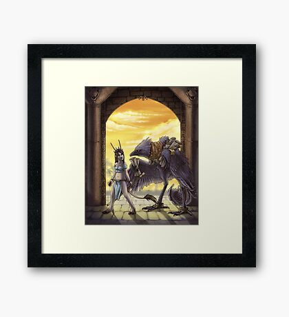 The Librarian Framed Print