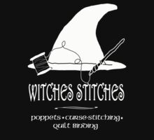 Witches Stitches - White Design by KMartinez
