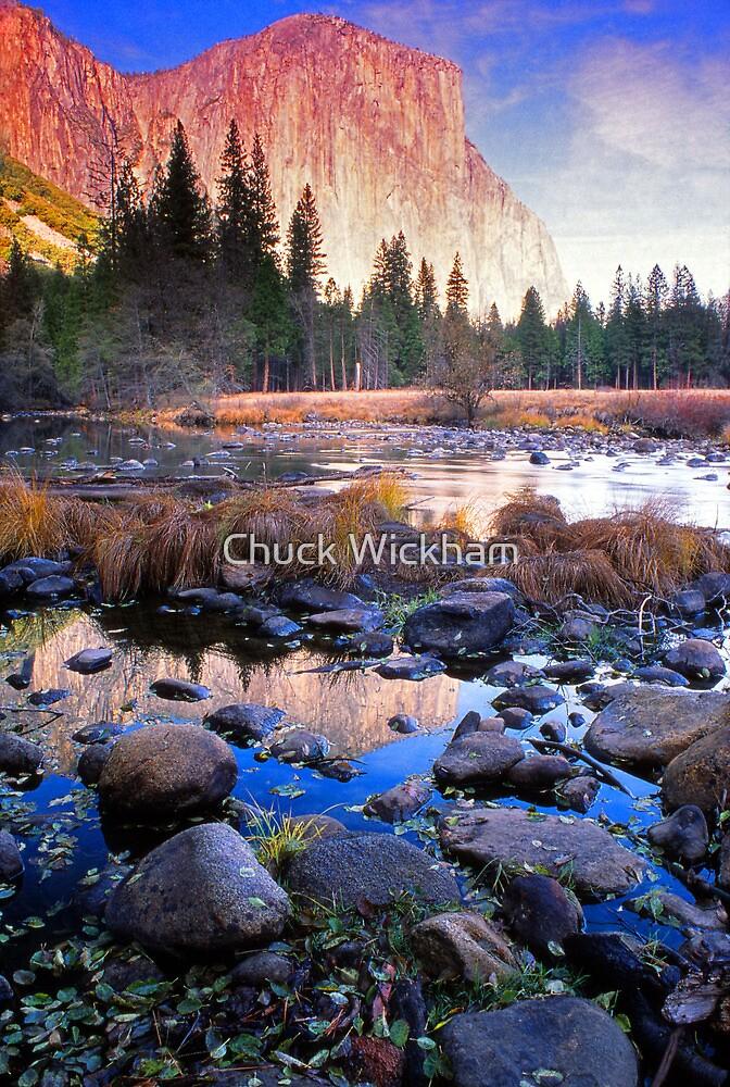 EL CAPITAN MERCED RIVER by Chuck Wickham