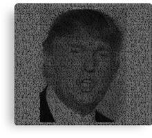 Things Donald Trump says Canvas Print