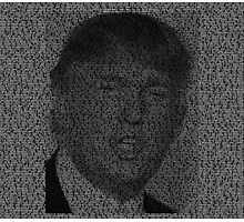 Things Donald Trump says Photographic Print