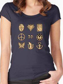 Bizarre Emblems Women's Fitted Scoop T-Shirt