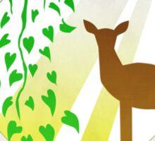 The Deer Is A Lie Sticker