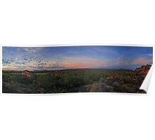 Ubirr Rock Sunset, Kakadu National Park Poster
