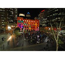 Customs House, Vivid Festival, Sydney 2011 Photographic Print