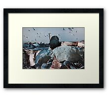 Under the paper Framed Print