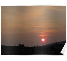 A Pink Sun Poster