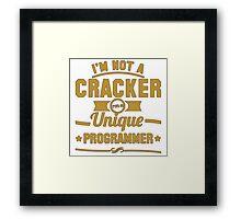 unique programmer Framed Print