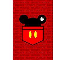 [Men] Mickey's Love Photographic Print