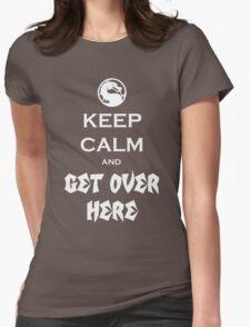 Mortal Kalmbat Womens Fitted T-Shirt