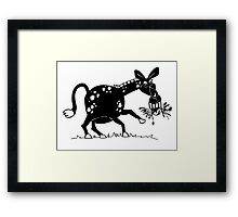 Back off! Framed Print