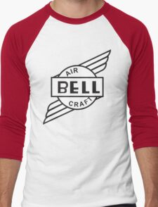 Bell Aircraft Company Retro Logo Men's Baseball ¾ T-Shirt