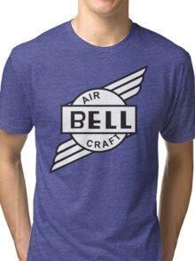 Bell Aircraft Company Retro Logo Tri-blend T-Shirt