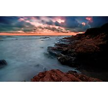 The Pacific… on the Rocks Photographic Print