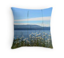 Parker Island, BC Throw Pillow