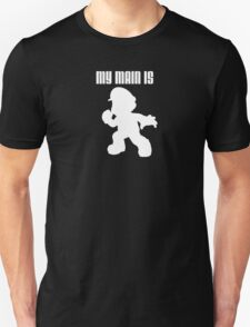 My Main Is Mario (Smash Bros) T-Shirt