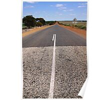 The Long Road - Western Australia Poster