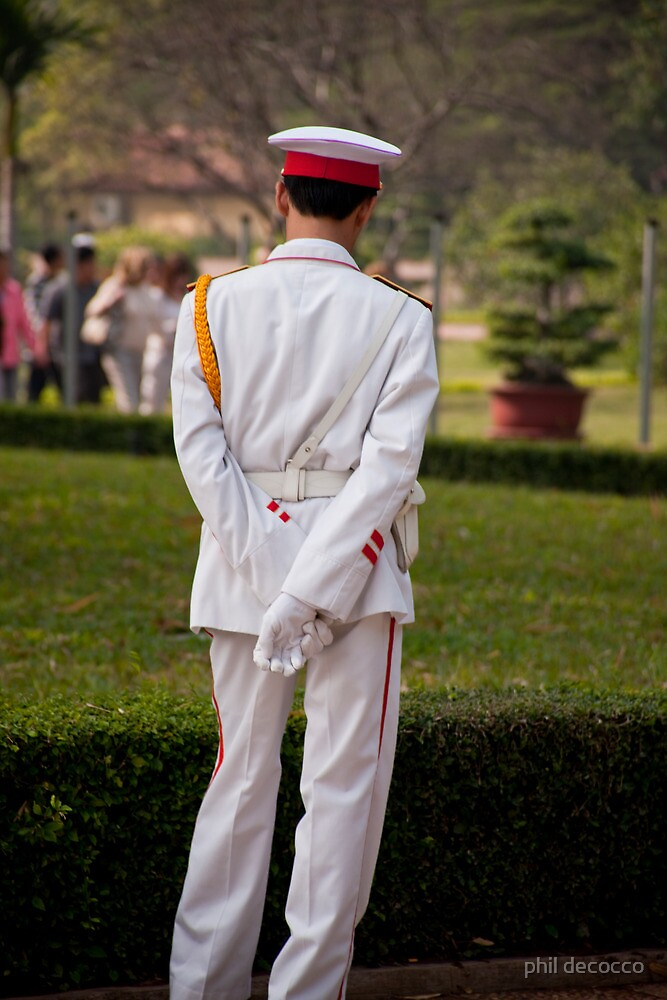 Ho Chi Minh Guard by phil decocco