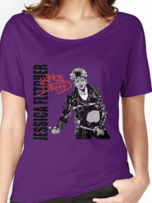 Jessica Fletcher like Michael Jackson Women's Relaxed Fit T-Shirt