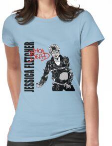 Jessica Fletcher like Michael Jackson Womens Fitted T-Shirt