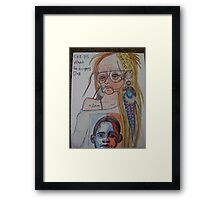 Cuz It's What The Teenagers Do Framed Print