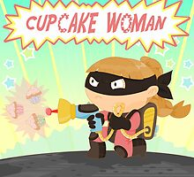 Cupcake woman by alapapaju