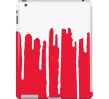 DRIP DRIP DRIP- White/Red iPad Case/Skin