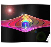 SplitsCylVania Four: UFO Visit  (UF0312) Poster