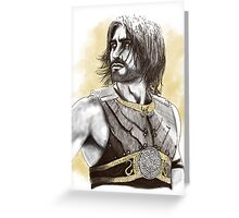 Prince of Persia 2 Greeting Card
